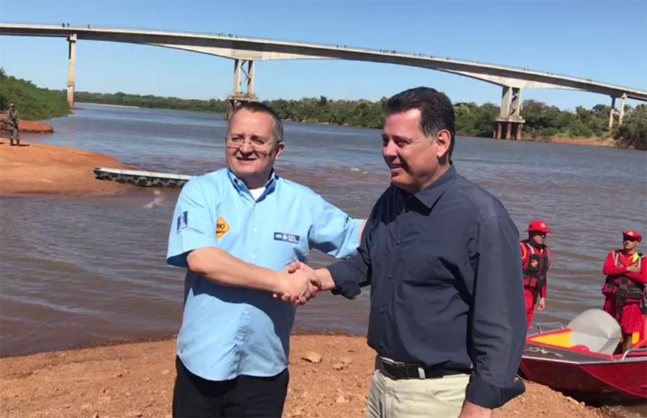 """""""Ponte do Cocalinho é obra da amizade e do progresso de Goiás e Mato Grosso"""", diz Marconi"""