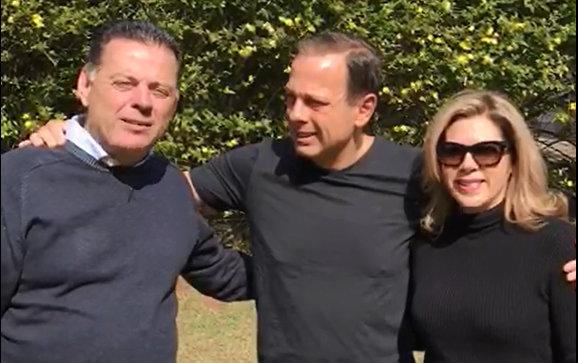 Em vídeo, Doria diz que Marconi é exemplo para o Brasil