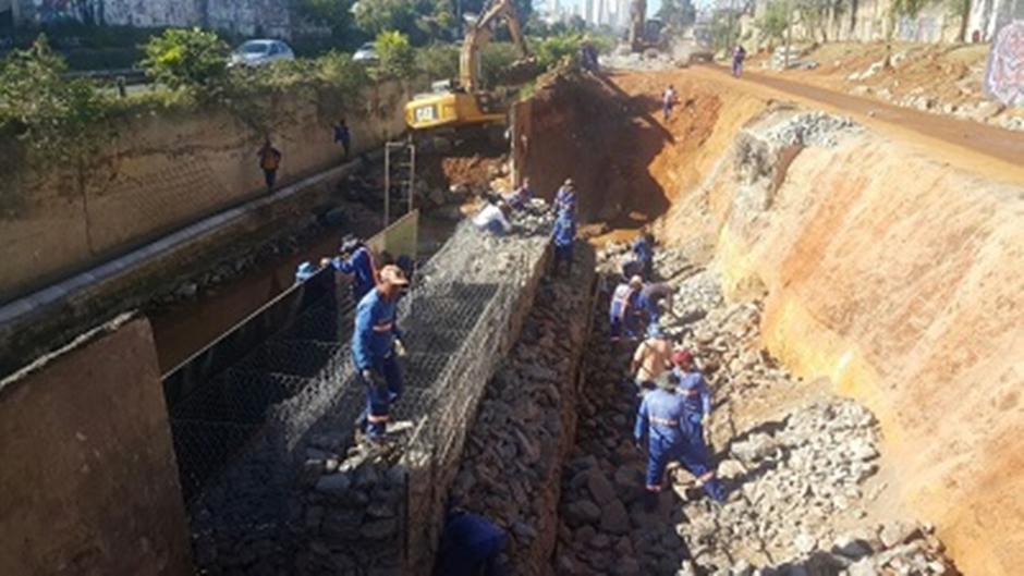 40% da obra na Marginal Botafogo já foi executada, diz secretário
