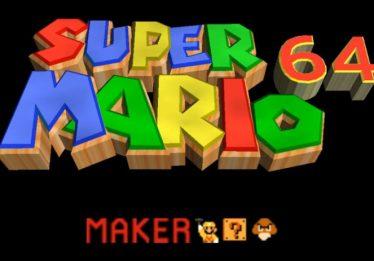 Fãs criaram Super Mario 64 Maker