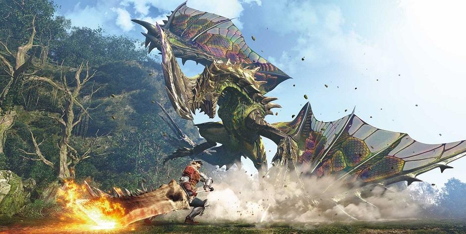 Capcom divulgou gameplay de Monster Hunter World