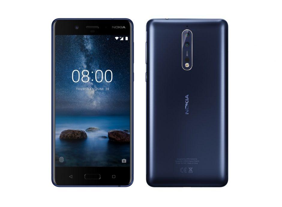 Veja a primeira imagem do Nokia 8