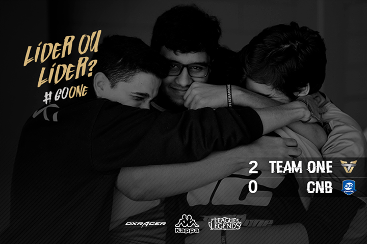 Team One continua na liderança do CBLoL
