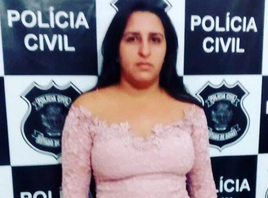 Mulher que organizou a explosão do presídio em Guapo é presa pela policia