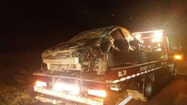 Jovem de 19 anos é preso após capotar veículo que teria furtado