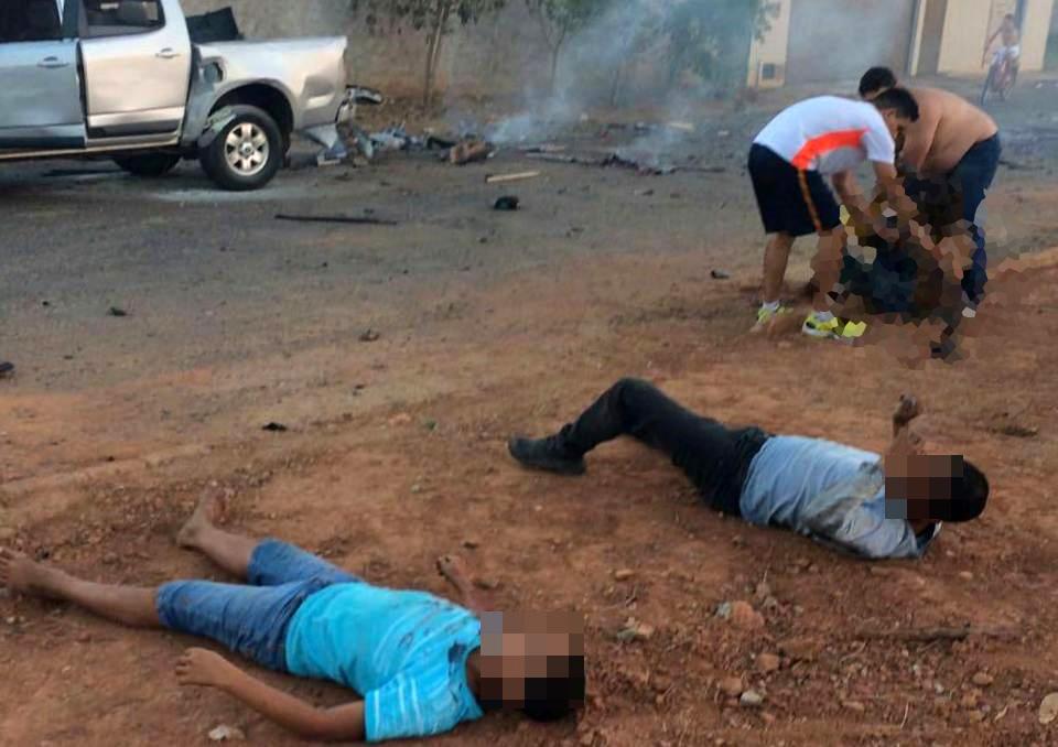 Polícia Civil investiga explosão de fogos de artifício em Sanclerlândia