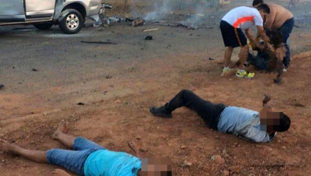 Jovem ferido em acidente com fogos de artifício morre no Hugol