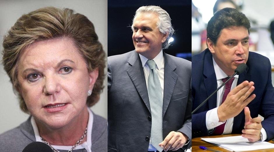 Senadores goianos votam a favor da Reforma Trabalhista