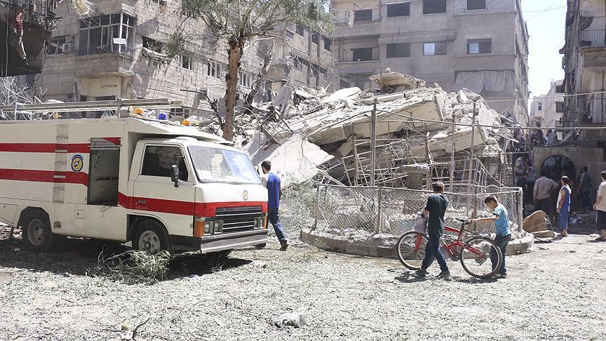 Governo sírio viola cessar-fogo pactuado nos arredores de Damasco
