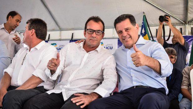 Em Itauçu, Marconi inaugura revitalização da avenida principal e assina convênio de R$ 1 mi para obras