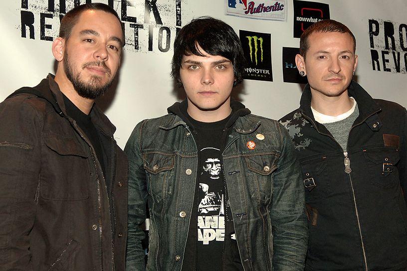 Gerard Way disse que Chester Bennington mudou a sua vida