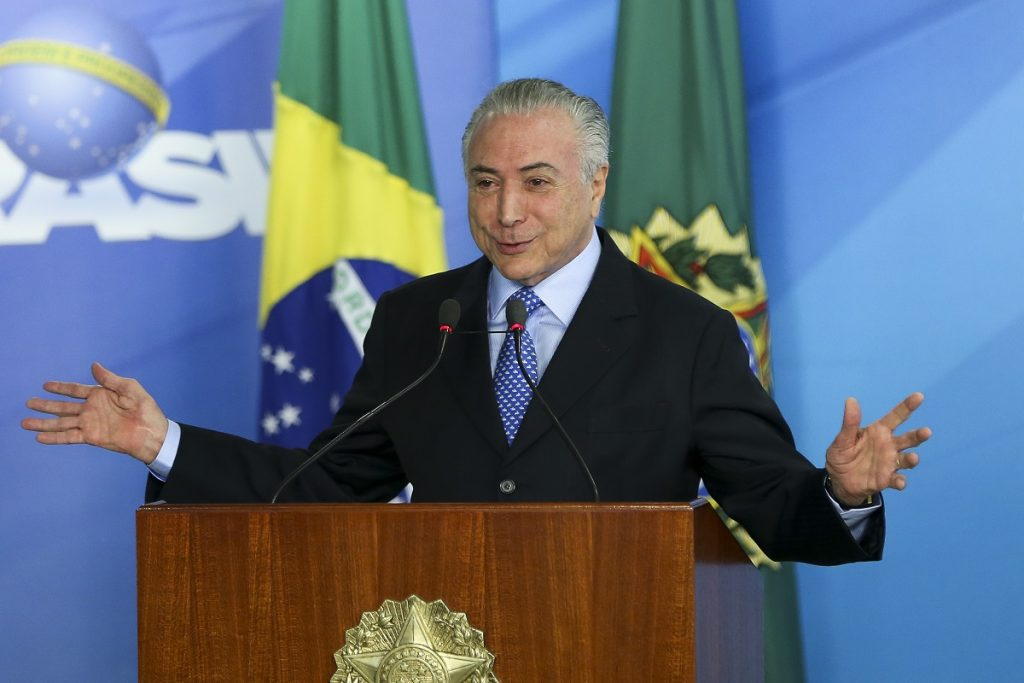 Em evento no Rio, Temer não comenta nova denúncia de Janot