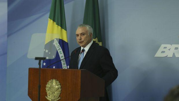 Após rejeição de denúncia, Temer diz que segue com ações necessárias para o país
