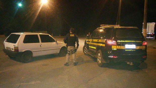 PRF recupera veículo quatro anos após o registro de roubo