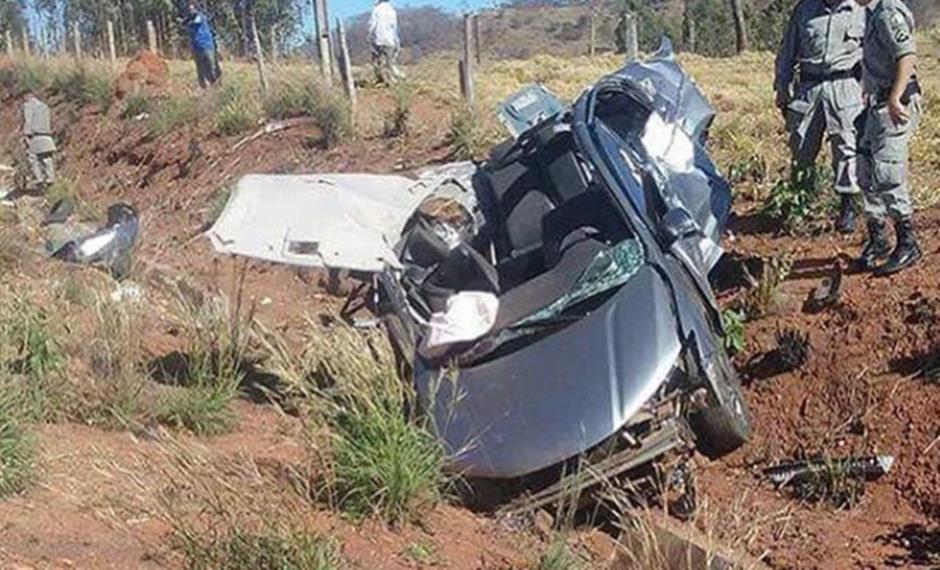 Duas pessoas morrem em acidente na GO-050
