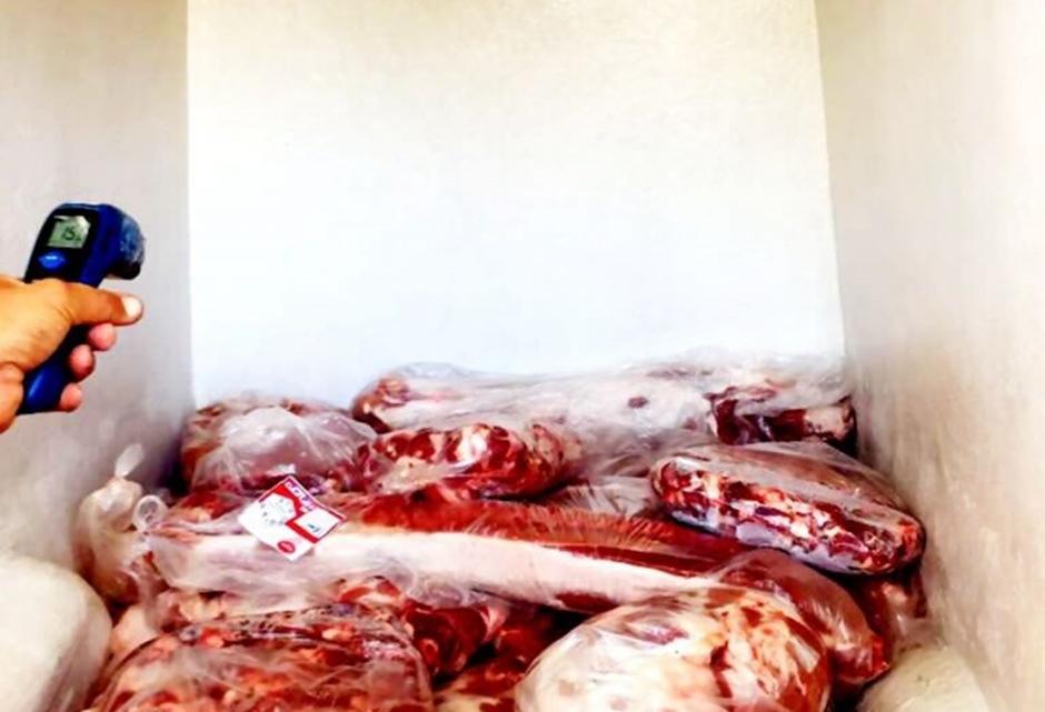 Polícia Militar apreende quase meia tonelada de carne sem nota fiscal na GO-469