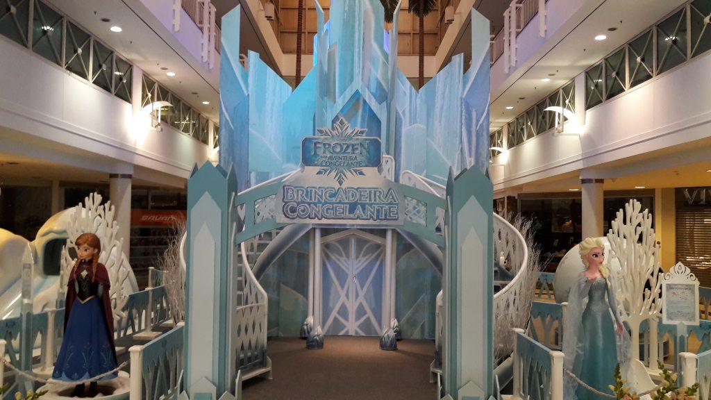 Frozen – Brincadeira Congelante é a nova atração do Goiânia Shopping para toda a família
