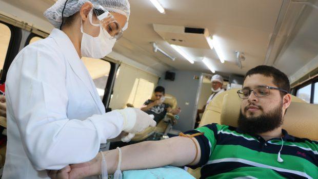 Prefeitura de Goiânia promove evento de doação de sangue nesta terça (29)