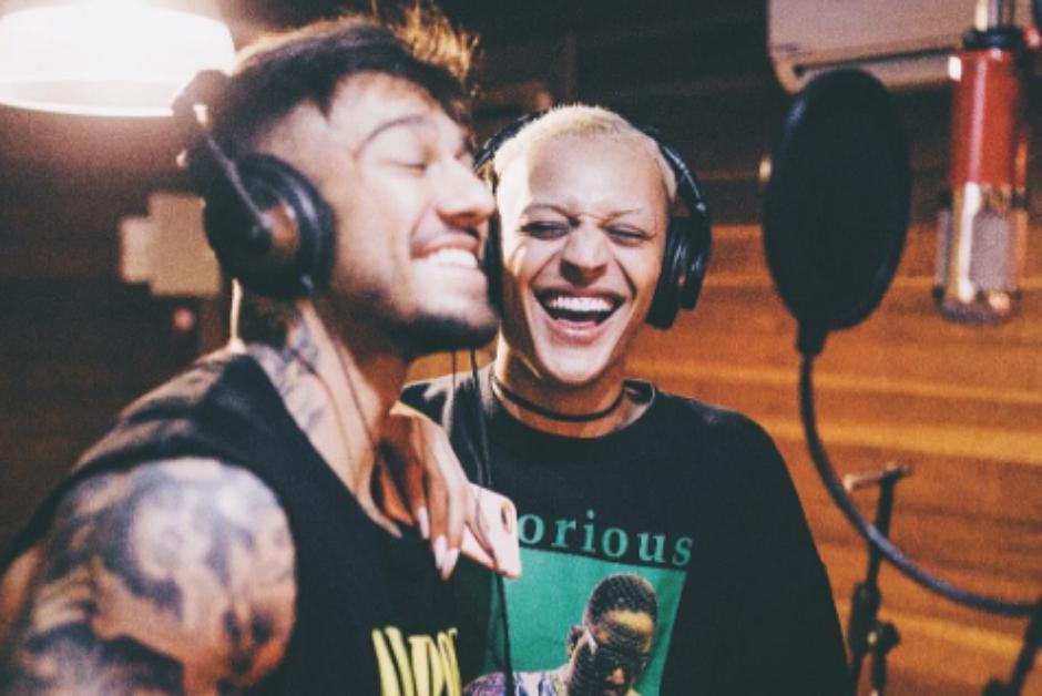 Lucas Lucco e Pabllo Vittar gravam música juntos