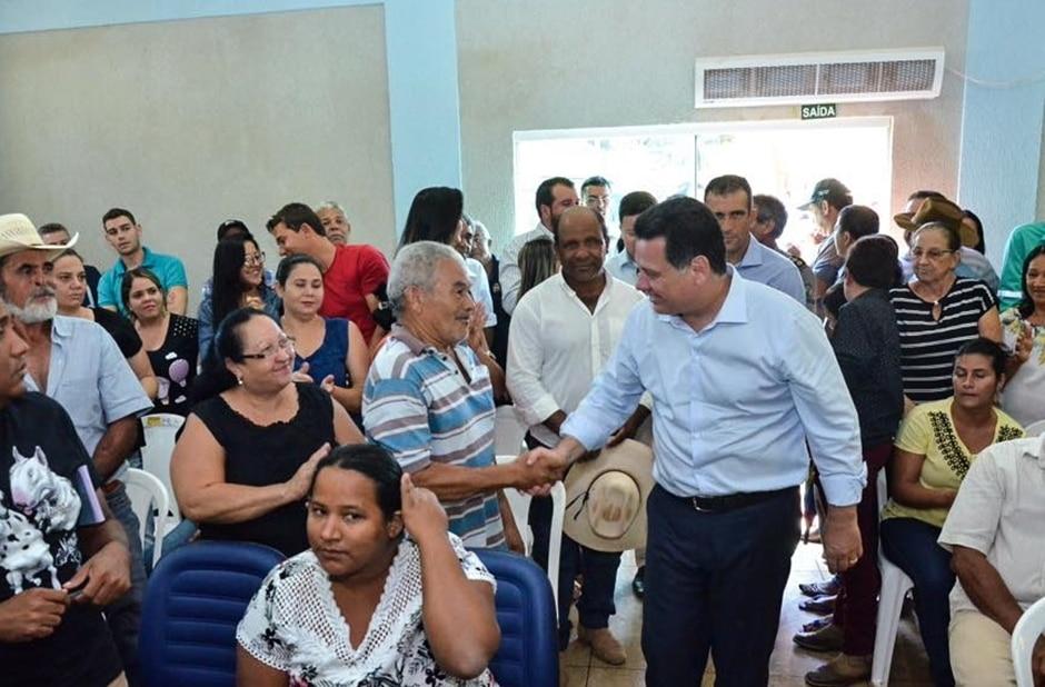Marconi recebe título de cidadania no município de Guarinos