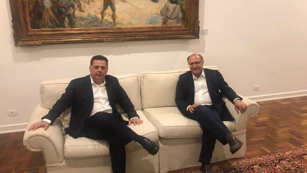 Marconi e Alckmin discutem demandas de Goiás e São Paulo