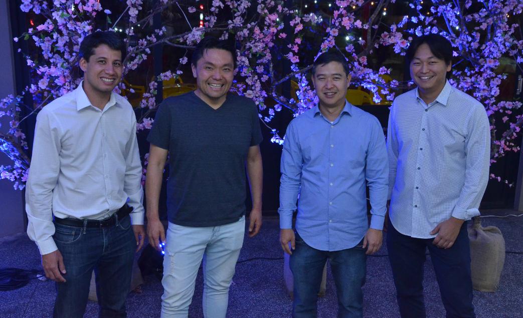 Os diretores do KAIKAN Marco Túlio Toguchi, Ricardo Noguchi, Edgar Yabumoto e Toshiro Watanabe lançaram o Bon Odori 2017 para os dias 25 e 26 de Agosto.