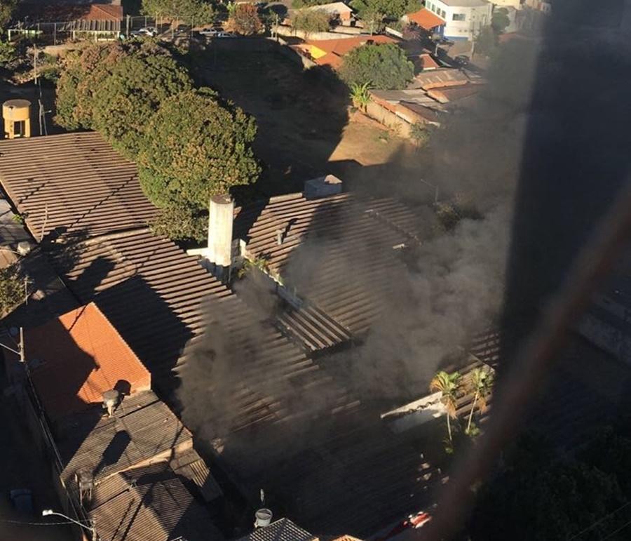 Incêndio atinge albergue de crianças no Setor Universitário