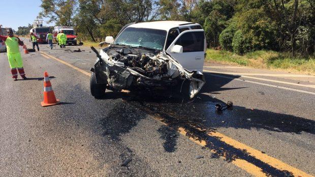 Homem morre após bater de frente com outro veículo na BR-050 em Catalão