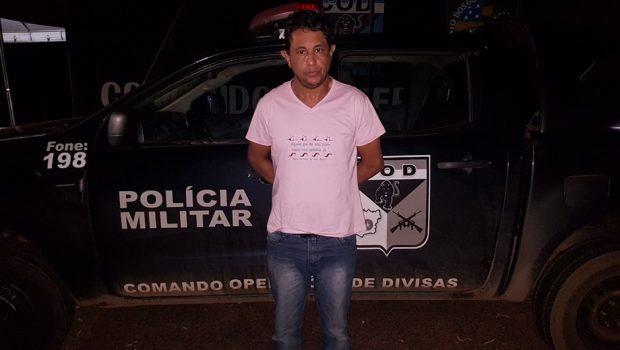 Foragido da Justiça é recapturado enquanto viajava, em Cachoeira Alta