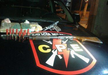 Traficante é preso com armas de uso restrito em Anápolis