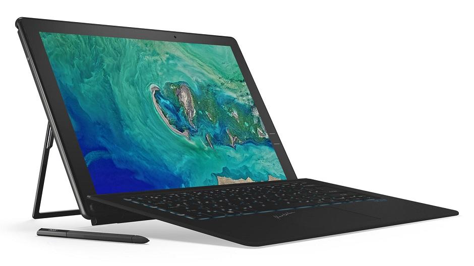 Acer lança 2 em 1 silencioso