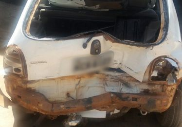 Estrangeiro embriagado provoca acidente na BR 060