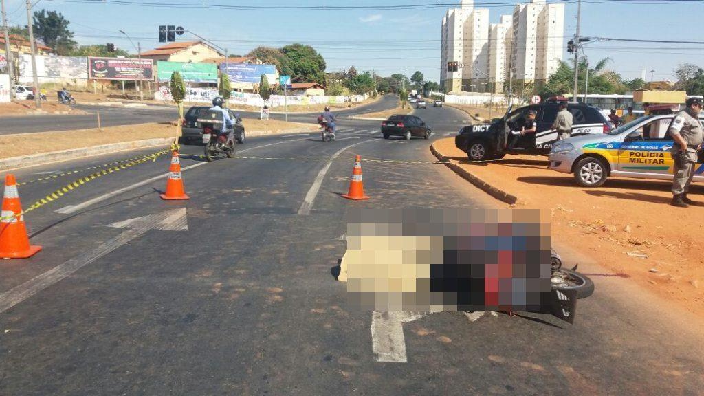 Motociclista morre atropelado no Jardim Europa, em Goiânia
