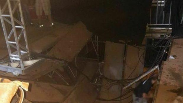 Estrutura desaba e show de Alok é cancelado em Presidente Prudente (SP)