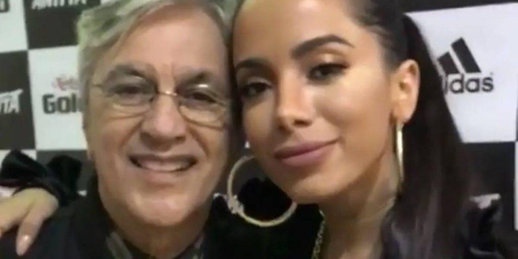 Anitta faz campanha pela Amazônia em vídeo com Caetano Veloso