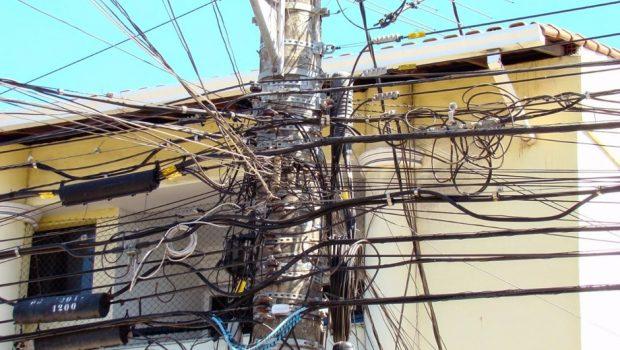 Projeto de lei prevê cabeamento subterrâneo em Goiânia
