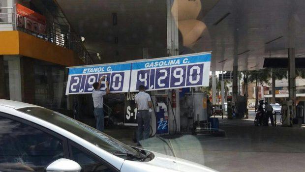 Queda no consumo de combustíveis puxa recuo nas vendas do varejo em Goiás