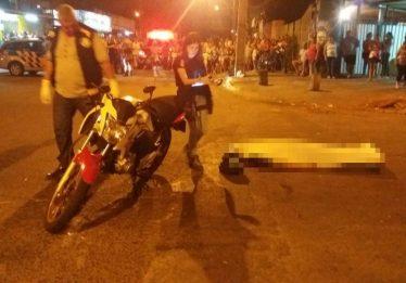 Motociclista inabilitado morre em acidente na Vila São José, em Goiânia