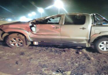 Motorista morre em capotamento na BR-153, em Aparecida de Goiânia