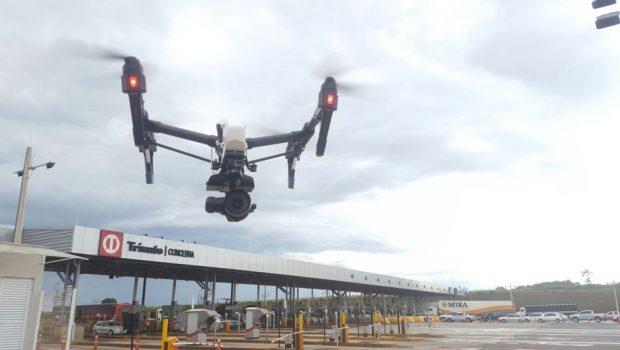 Drone já está sendo utilizado para monitoramento da BR-153