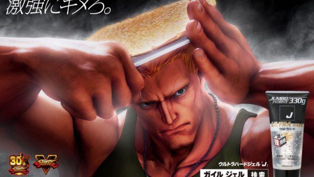 Empresa de produtos capilares usa personagem de Street Fighter em anúncios