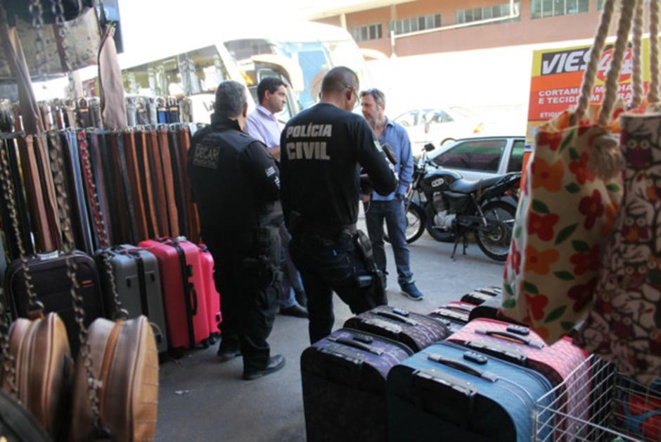 Operação da Polícia Civil apreende mercadoria sem nota fiscal