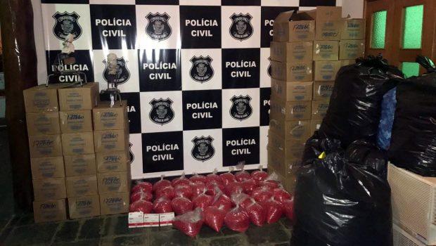 Polícia Civil estoura laboratório ilegal de medicamentos em Inhumas