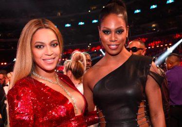 Laverne Cox trabalha com Beyoncé em projeto secreto
