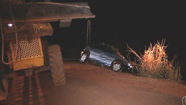 Casal morre após carro cair em represa em Perolândia