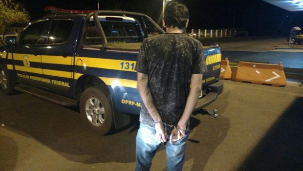 Jovens são presos transportando drogas pela BR-364, em Jataí
