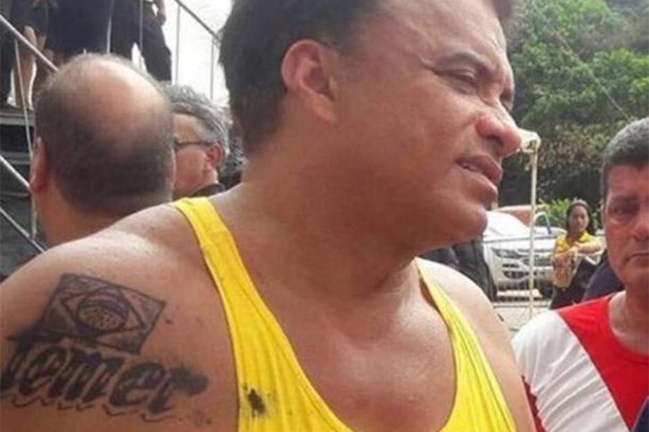 Deputado que tatuou nome de Temer é réu no STF por peculato desde 2010