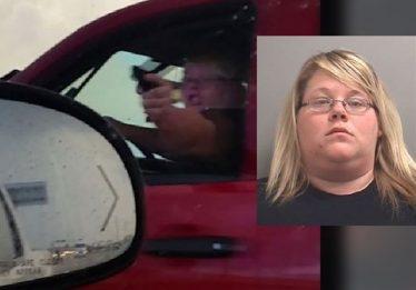 Durante briga de trânsito, mulher ameaça motorista com revólver de brinquedo e é presa