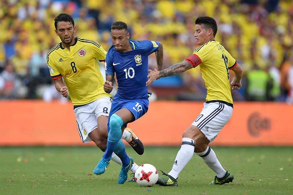 Brasil empata com a Colômbia e mantém liderança nas eliminatórias sul-americanas