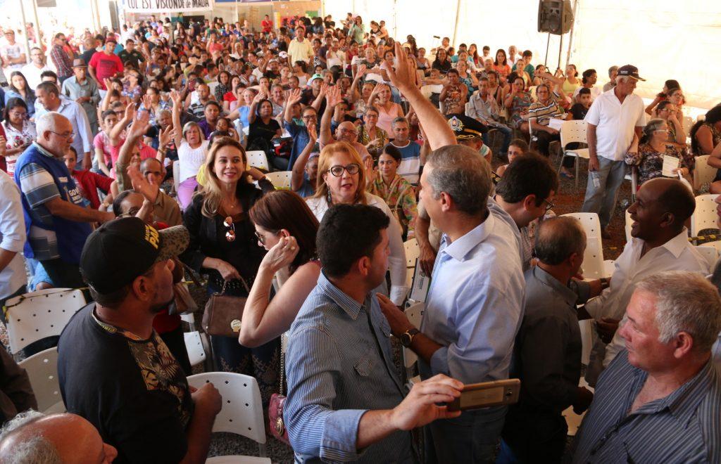Abertura do Goiás Junto de Você reúne mais de 2 mil moradores em Aparecida de Goiânia